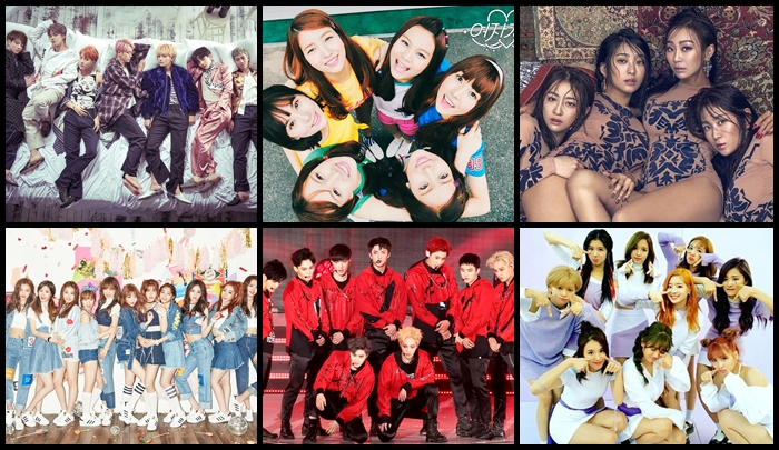 Top de las 100 canciones de Melon Chart en el 2016