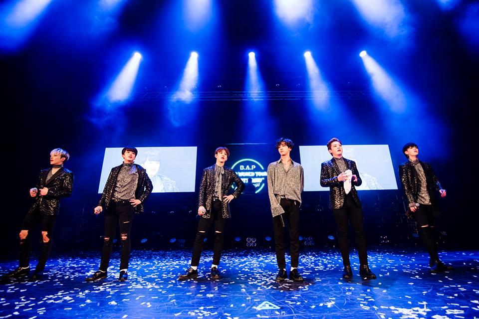 ¡B.A.P concluye con éxito parte de su gira mundial  'PARTY BABY'!