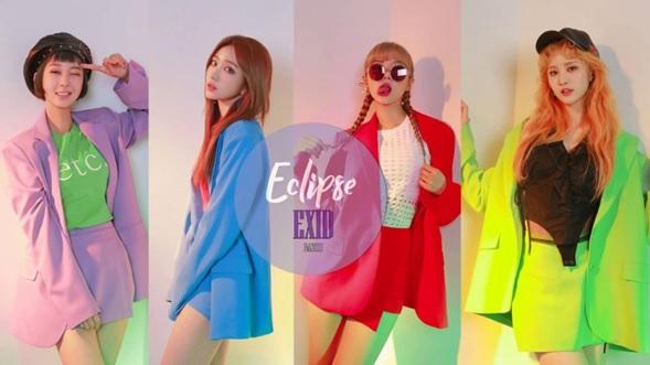 ECLIPSE de EXID presente en las listas de Billboard