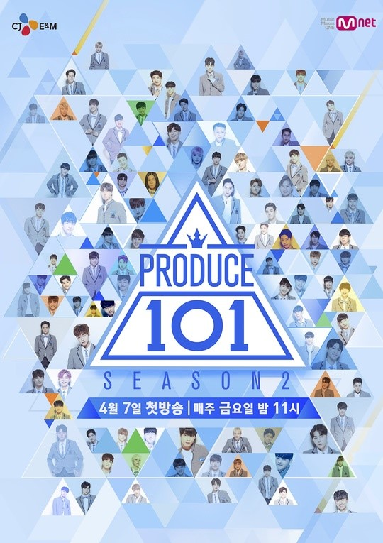 Top 11 en el Ranking de 'Produce 101 S2'