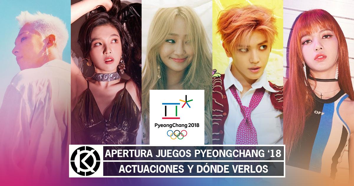 K Pop En Pyeongchang 2018 Taeyang Red Velvet Hyolyn Y Mas K Pop